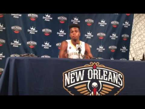 Pelicans' Buddy Hield on playing with Anthony Davis, adjusting and more