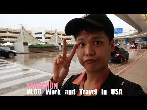VLOG Work and Travel In USA 1 Cedar Point วันของการทำงานกับตังชุน | TANGCHUN