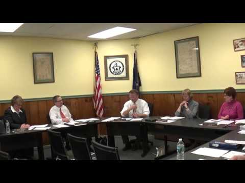 Champlain Village Board Meeting  4-4-16