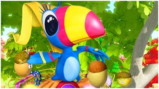 رسوم متحركة للاطفال | الدنيا روزي | مباراة تنس | والرياضة للأطفال | مجموعة | قناة براعم | سبستون