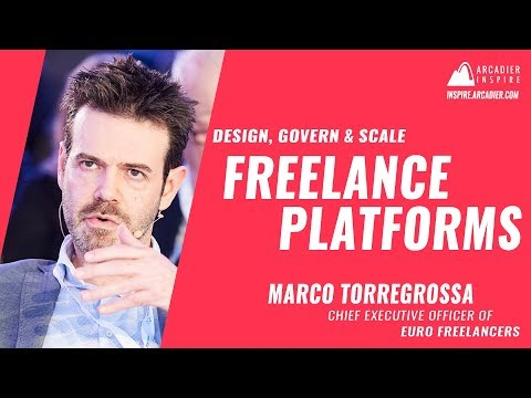 How to Design, Scale and Govern Freelance Platforms by Marco Torregrossa