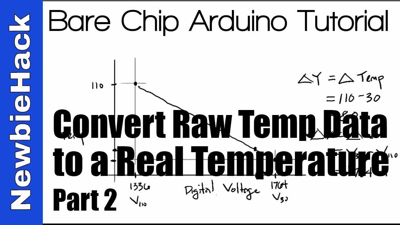 38  How to Convert the Raw ADC Temperature data into a Degrees- STM32 ARM  Microcontroller Part 2