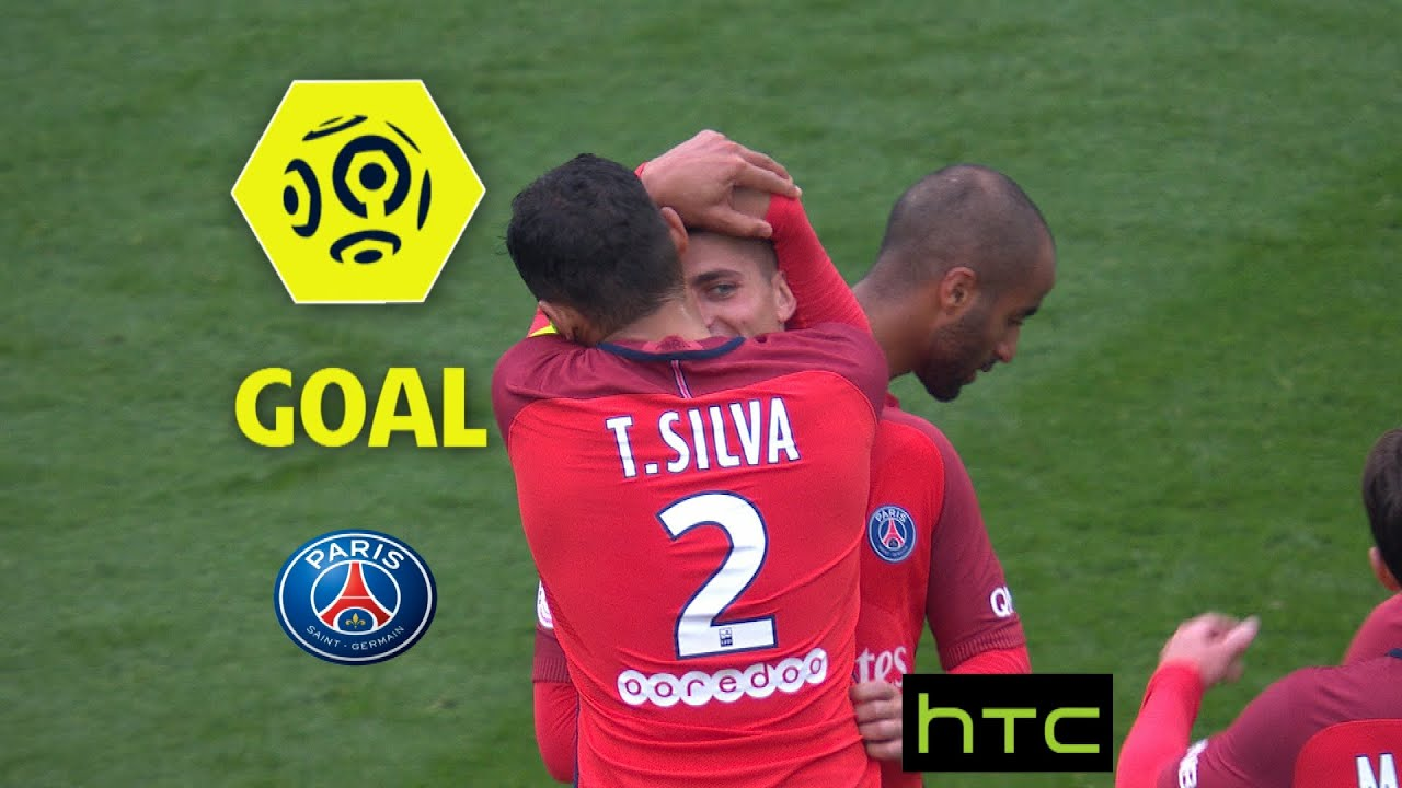 Goal Marco VERRATTI (35') / Paris Saint-Germain - SC Bastia (5-0)/ 2016-17  - YouTube