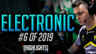 electronic - TOO OVERSHADOWED - HLTV.org's #6 Of 2019 (CS:GO)