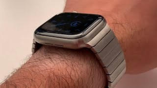 Does the Titanium Series 5 Apple Watch look good with Steel Bands?