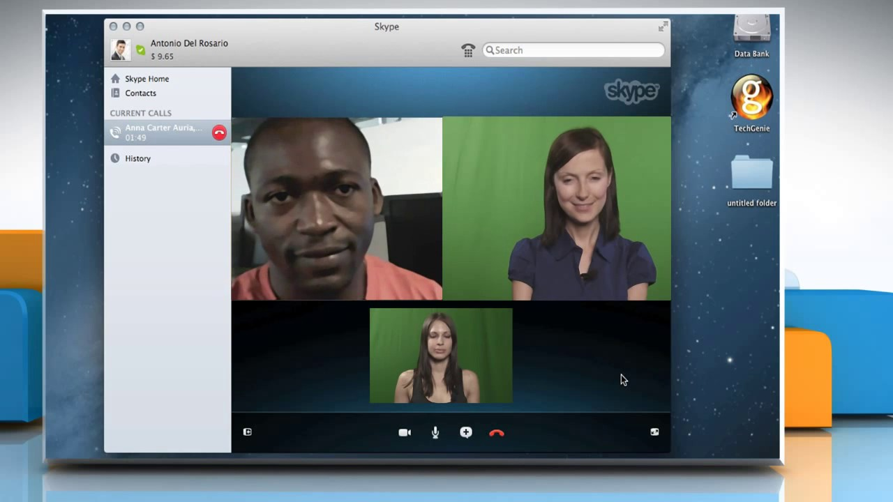 how to make a video call on skype mac
