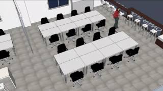 Aplopio RecruiterBox Office Space Design 3D Sketchup file