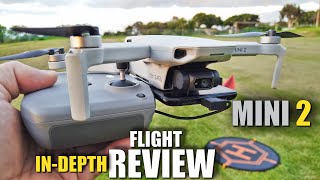 DJI MINI 2 Flight Test Review IN DEPTH - How good is it...REALLY!?