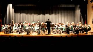 2012 Winter Concert HTMS 8th Grade Band - Frosty