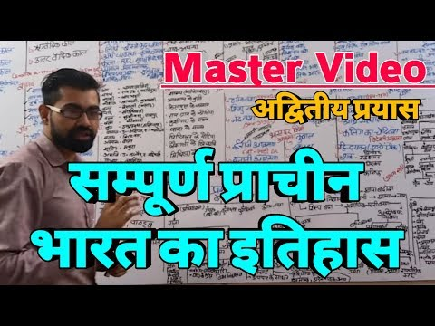 सम्पूर्ण प्राचीन भारत का इतिहास@Master Video@Complete Ancien