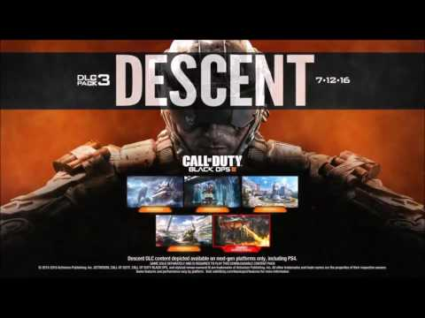 Bo3 DLC 3 Descent Trailer 4 Maps Multijoueur