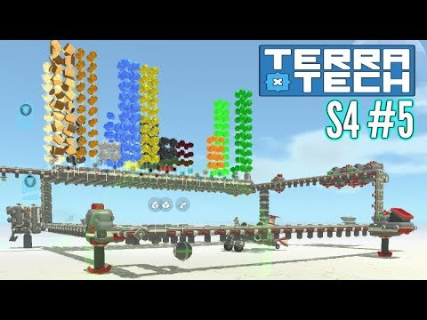 Terratech   Ep5 S4   Crafting Base & More!!   Terratech v0.8.2 Gameplay