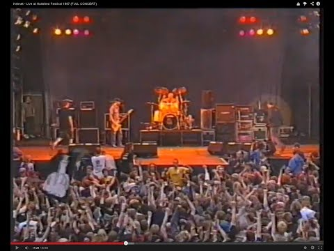 Helmet - Live at Hultsfred Festival 1997