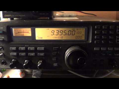 Polish radio Warsaw via Global24 radio 9395 khz