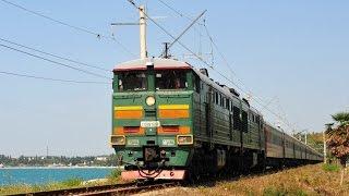 Абхазия из кабины тепловоза 1(Снимал летом от Адлера до Сухума., 2016-02-18T14:53:02.000Z)