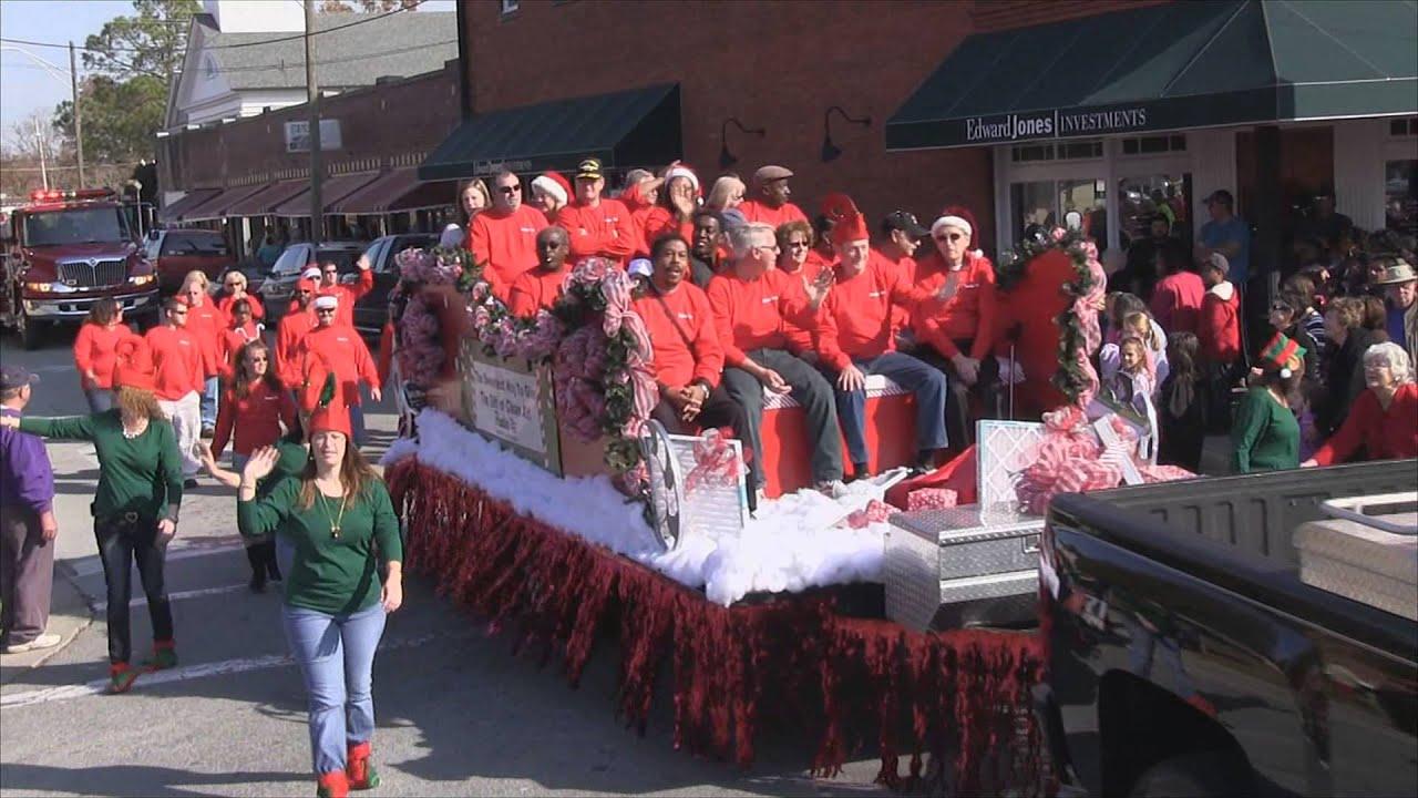 2012 Christmas Parade - Washington NC - YouTube