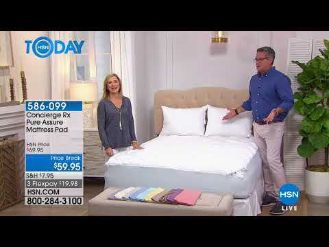 HSN | HSN Today: Concierge Collection Bedding 04.18.2018 - 07 AM