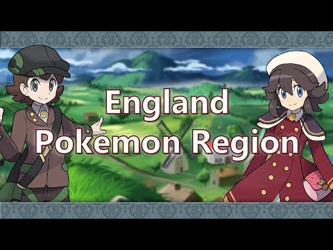 What If England Was A Pokemon Region?