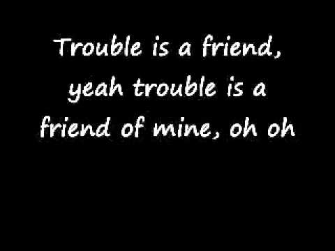 LenkaTrouble Is A FriendLyrics  YouTubeflv