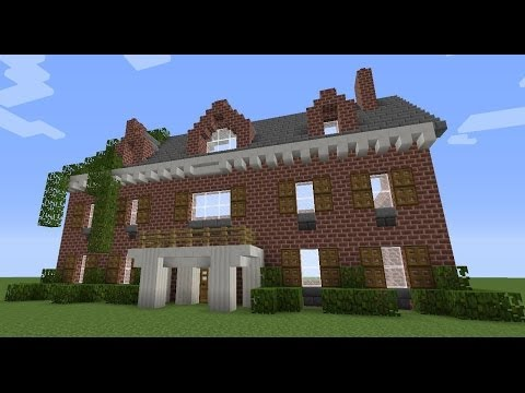 Minecraft Colonial House Tutorial YouTube