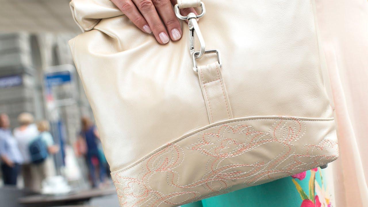 click & create #1: Elegante Damentasche - YouTube