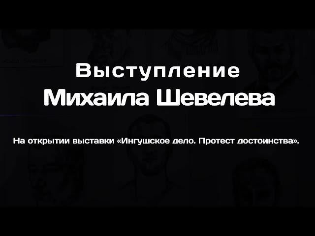 Михаил Шевелев об ингушском деле и России