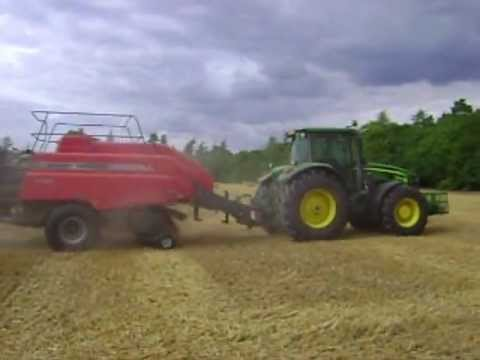 baling straw mid lands uk