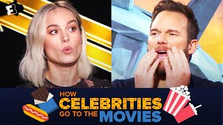 How Celebrities Go to the Movies - PART 5 | Fandango All Access