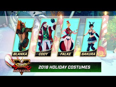 The best part of this Street Fighter V Christmas costume trailer is the music