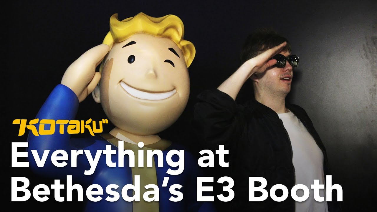 Fallout 76 And More At Bethesda's E3 Booth With Tim Rogers