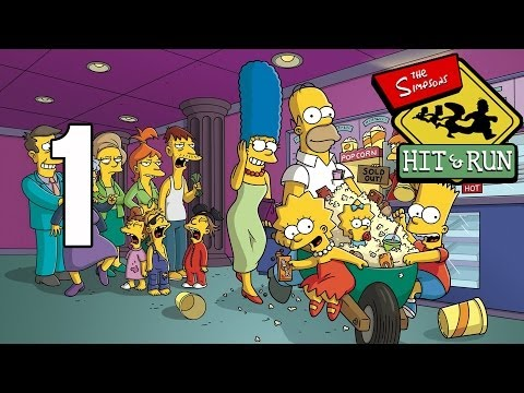 Los Simpson Hit and Run Español Parte 1 Nivel 1 (Misiones Homer) Gameplay PS2/PC HD Let's Play