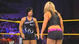NXT | Kaitlyn vs Vickie Guerrero (w/ Dolph Ziggler)