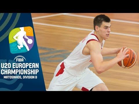 Russia v Belarus - Full Game - FIBA U20 European Championship Division B 2019