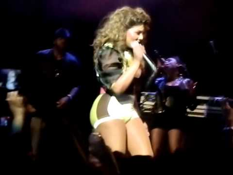 Lil Kim performing Keyshia cole ft Missy Elliot Let It Go May 27, 2012 in Milwaukee, WI