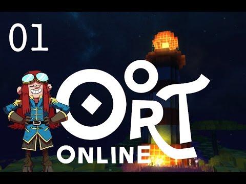 Lighthouse Time - Let's Play Oort Online - Massively Multiplayer Online Game