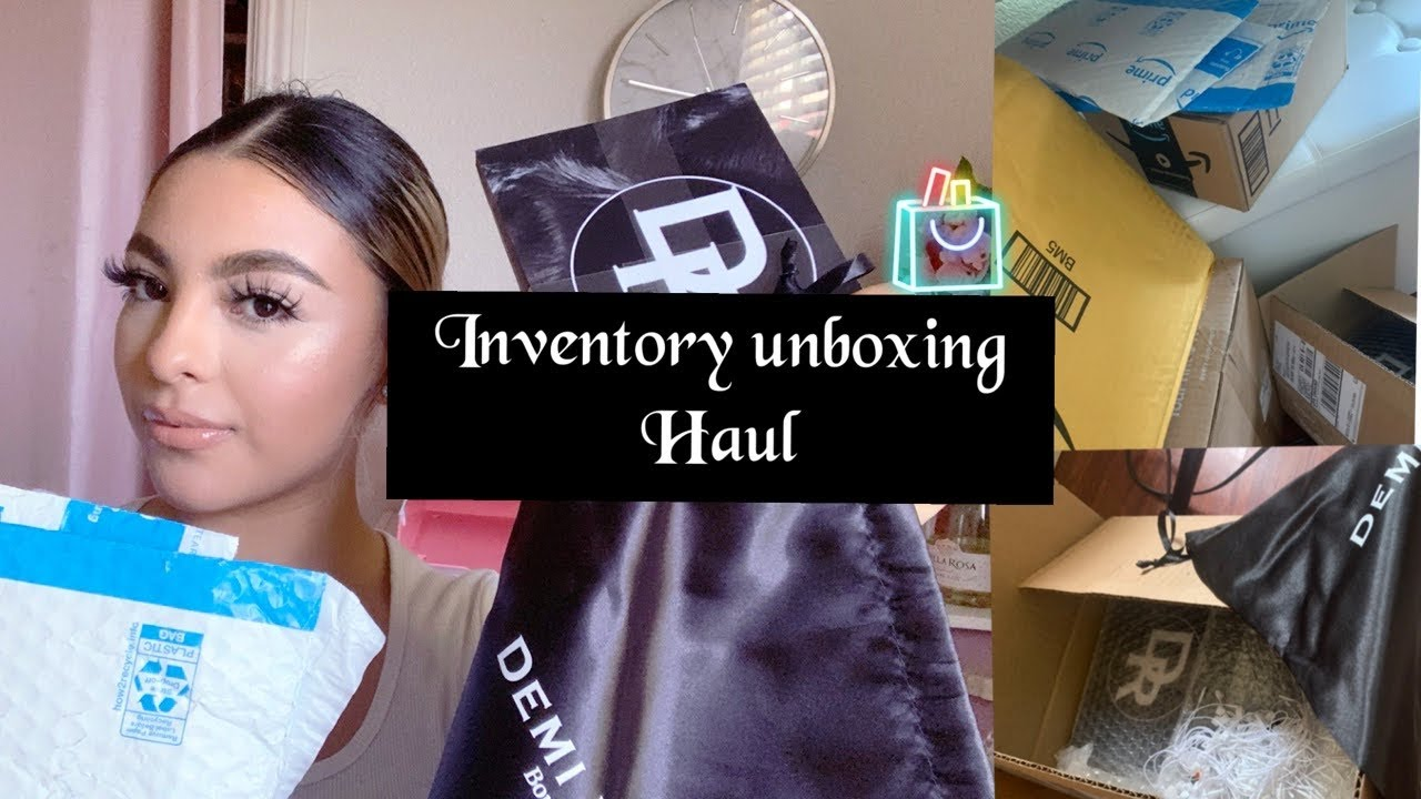 ENTREPRENEUR LIFE pt2: Inventory haul /business essentials/ business tags & cards /eyelash business