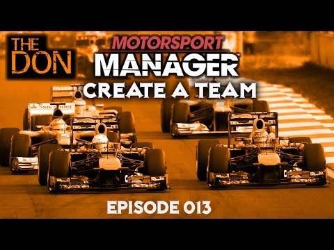 Let's Play Motorsport Manager Create a Team - EP13 - Portuguese Grand Prix and new staff Centre