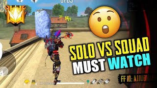 One vs Four Play Like Hacker in Free Fire - Garena Free Fire- Total Gaming