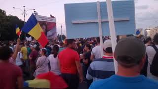 Protest Pța Victoriei - neprelucrate 10 August 18
