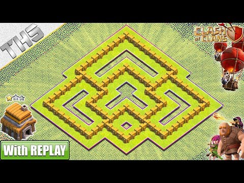 NEW BEST TH5 Hybrid Base 2019 With REPLAYS | TH5 Base With COPY LINK- Clash Of Clans