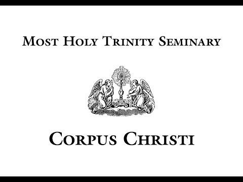 Corpus Christi at Most Holy Trinity Seminary