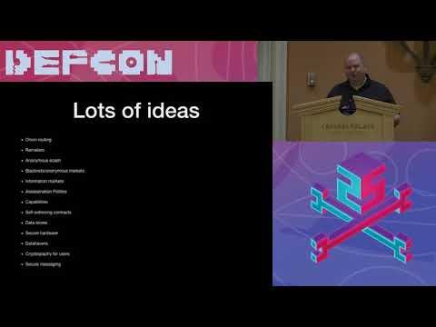 DEF CON 25 Crypto Village - Ryan Lackey - Cypherpunks History