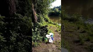 Рыбалка на реке Рыбалка на мини бойлы летом