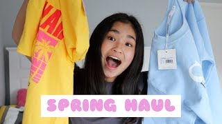 spring haul - missguided, the iconic, asos, factorie // helen zhang