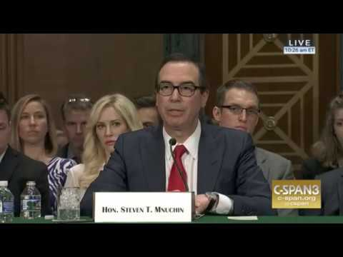 "Mnuchin: Treasury Department Would Take Monetary Ties Between Trump/Russia ""Very Seriously"""
