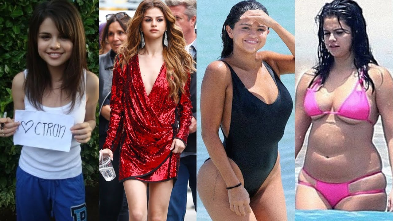 Download Selena Gomez - Transformation From 1 To 26 Years Old