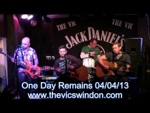 One Day Remains 4th April 2013 The Vic Swindon