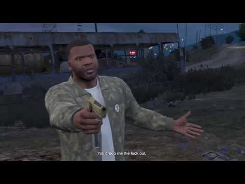 GTA V: Franklin Kills Trevor (Optional)