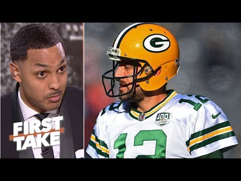 Aaron Rodgers is '100 percent'  responsible for the Packers' struggles - Ryan Hollins | First Take