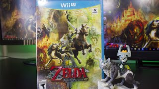 The Legend of Zelda Twilight Princess HD Amiibo Bundle Unboxing